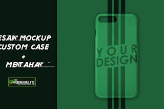 Video tutorial Desain Mockup Case dan Mentahannya