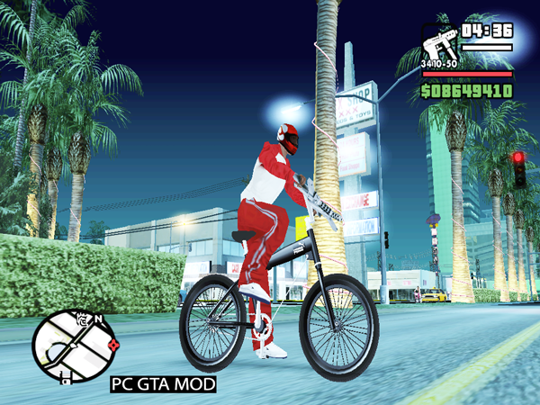 Free Download Puma MT Bike Mod for GTA San Andreas.