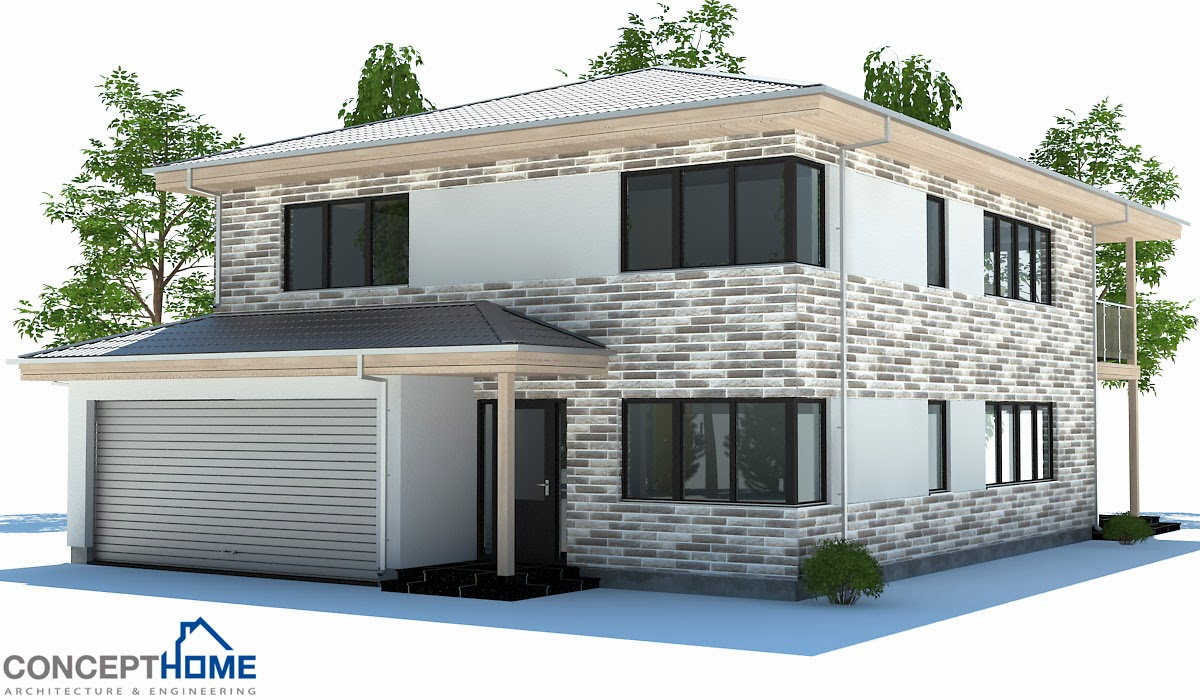 Affordable Home Plans: Modern Affordable Home Plan CH178