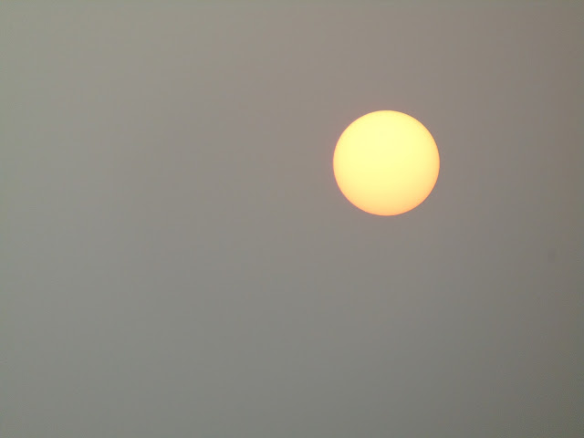 sunset in lucknow