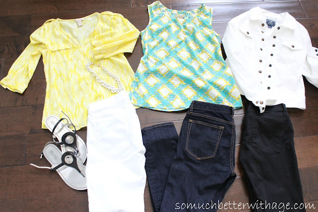 Take a photo of your haul www.somuchbetterwithage.com