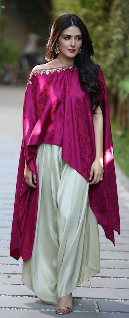 Beautiful Natasha Khalid Displays Designer Misha Lakhani's Latest Collection