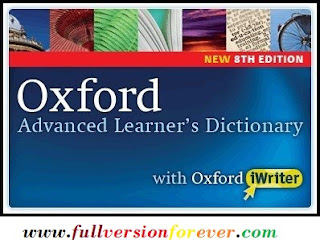 Download Oxford Advanced Learners Dictionary 8th Edition with iWriter