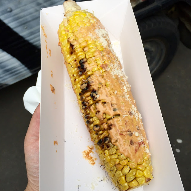 Little Mushroom Co, food truck, mexican corn