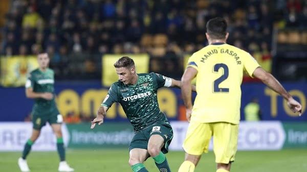 El Betis cae derrotado en Villarreal (2-1)