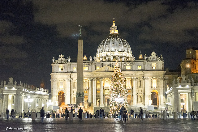 Navidad en Roma, Plaza de San Pedro por El Guisante Verde Project