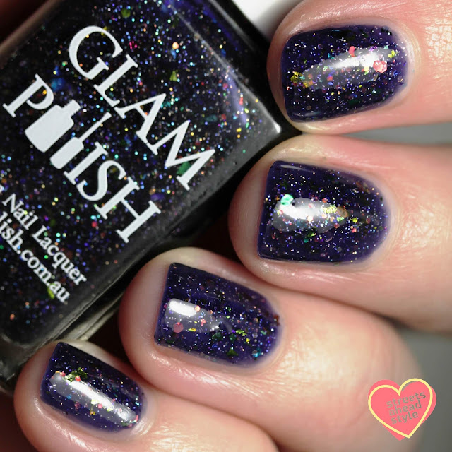 Glam Polish Swooping Evil 2.0 swatch by Streets Ahead Style