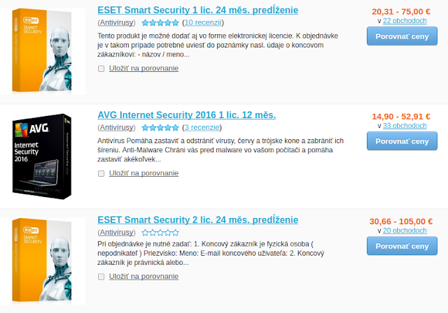 AVG a ESET Smart Security