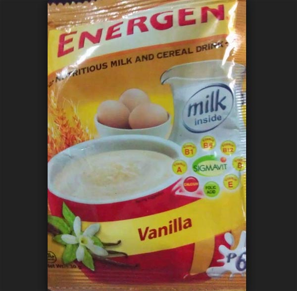Benefits of Energen Milk and Cereal Drinks