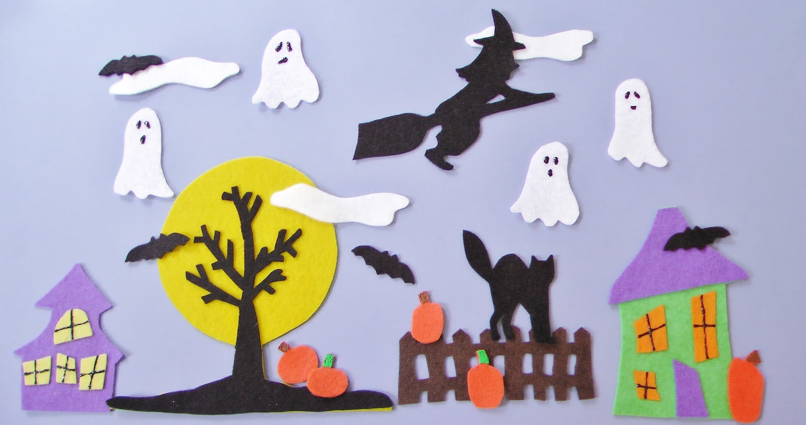 Flannel Board Fun: Halloween Scene