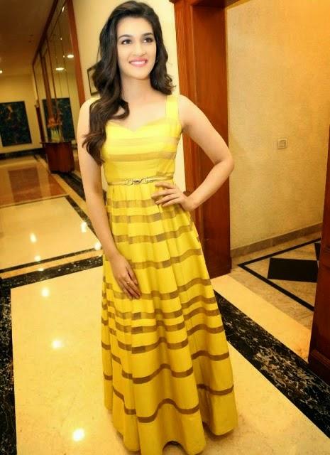 Bollywood Actress Kriti Sanon at Dochey Movie Audio Launch Photos