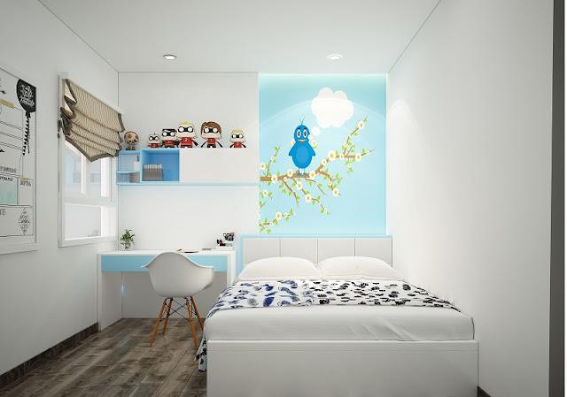 Mẫu thiết kế nội thất chung cư 67m2 sang trọng, tiện nghi - H6