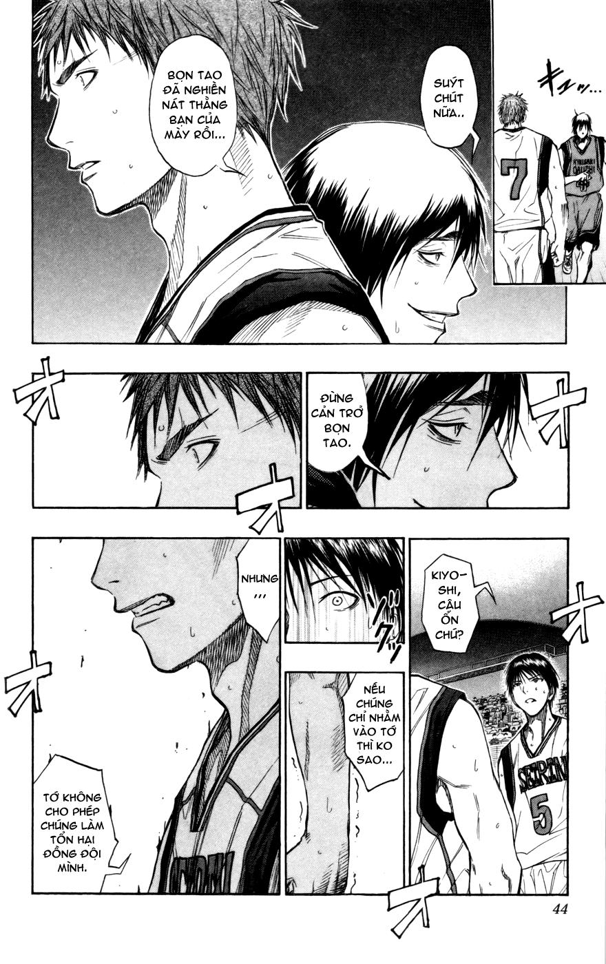 Kuroko No Basket chap 101 trang 17