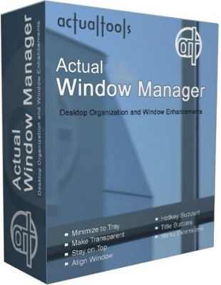 Actual Window Manager 8.10.1 poster box cover