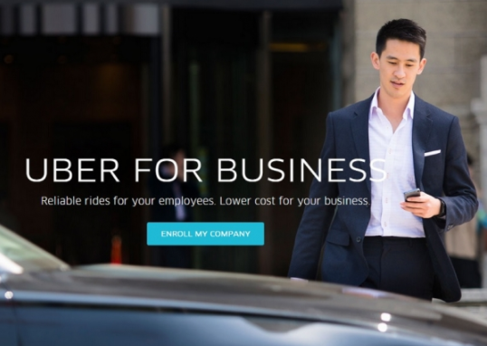 Uber debut Uber for business dengan program perjalanan adat dan aturan