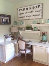 Little Farmstead Farmhouse Spring Decorating