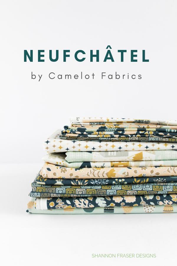 Neufchâtel fabric bundle Camelot Fabrics | Shannon Fraser Designs