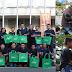 Relawan GIDKP Gelar Rampok Kantong Plastik di Tiga Titik Sekitar Alun-alun Bandung