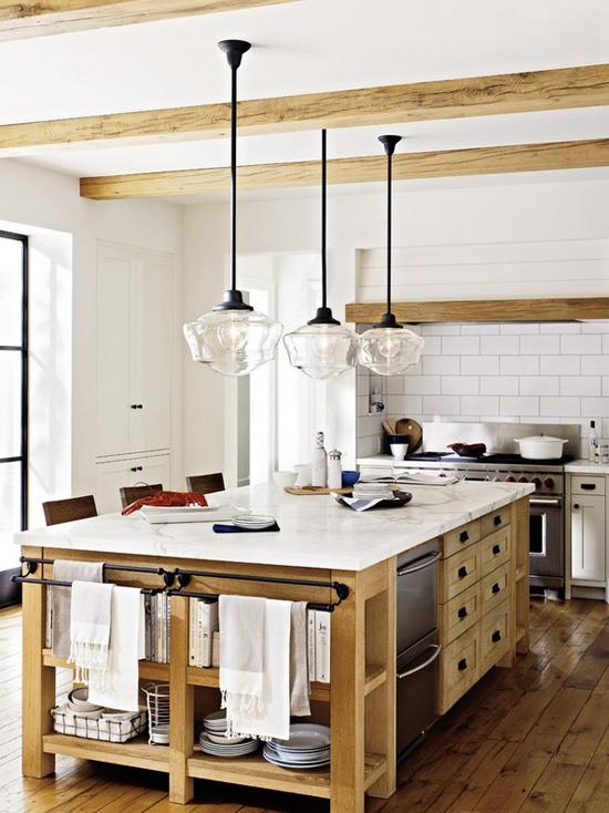 Kitchens Farmhouse White Open