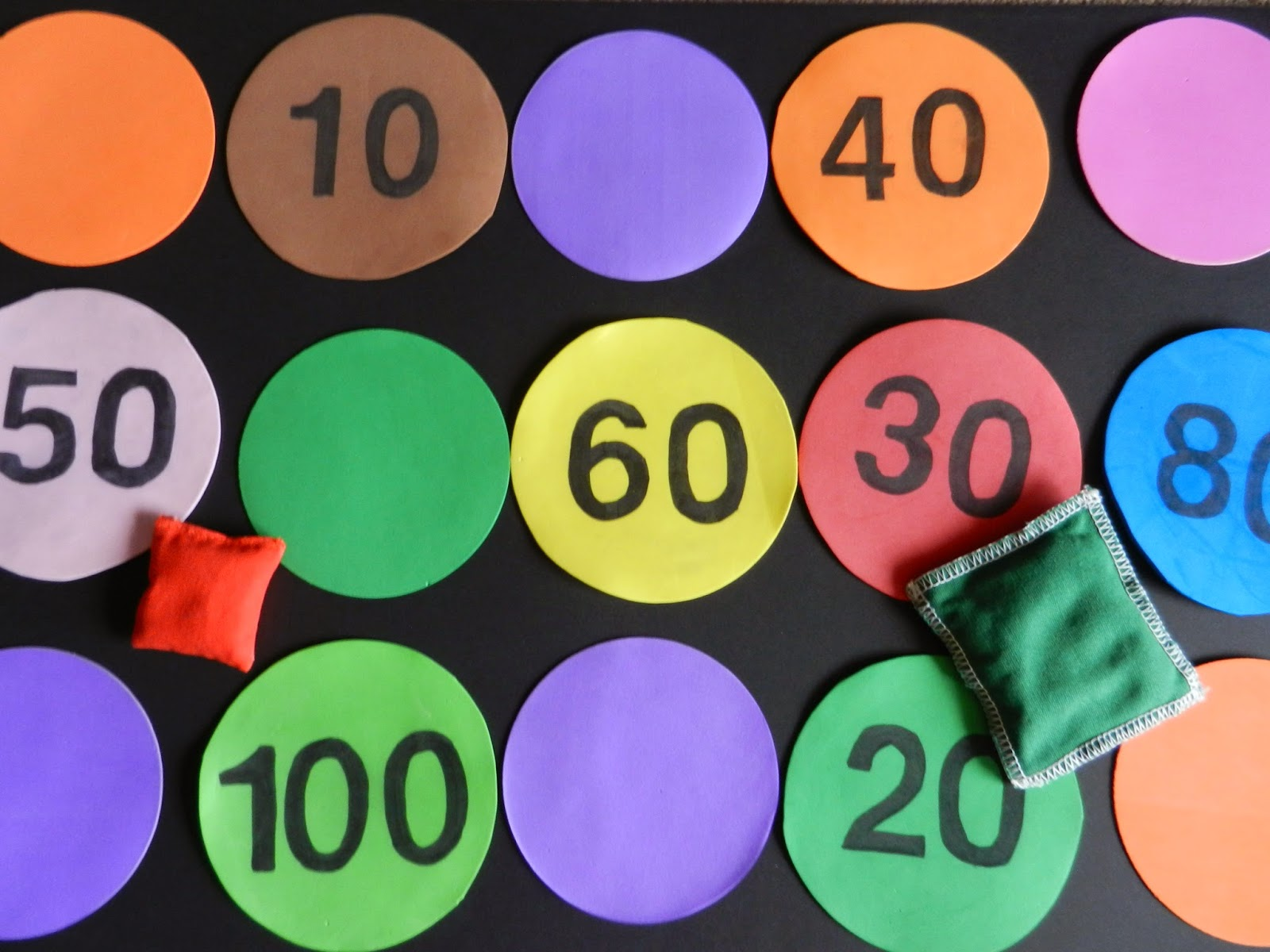 Music And Spanish Fun Bean Bags And Number Fun