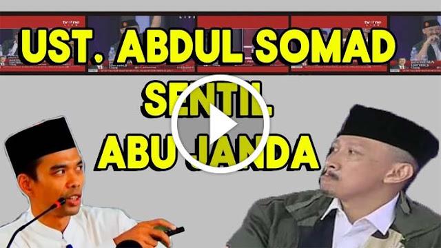 Sentilan Nylekit Ust Somad pada Abu Janda! Ada Namanya Ust. Palsu Yang Kemaren Pucat Berdebat Dengan Ust. Felix di ILC