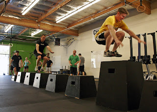 Crossfit training image