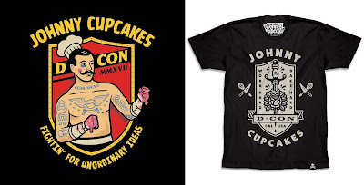 Designer Con 2017 Exclusive Johnny Cupcakes T-Shirts