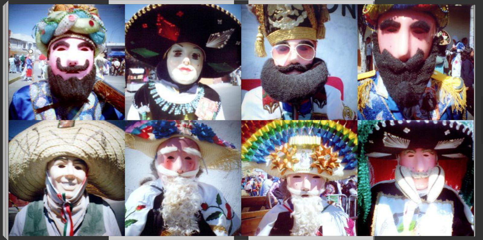 retratos del carnaval de huejotzingo