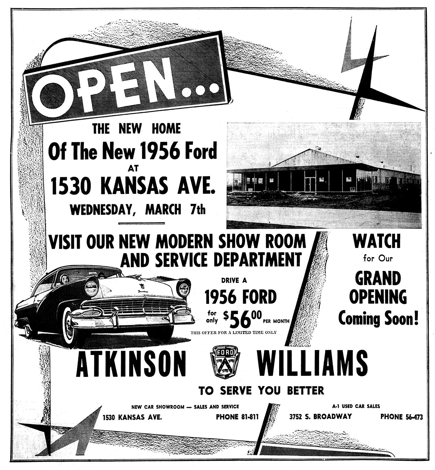Brady's Lorain County Nostalgia: Atkinson Williams New