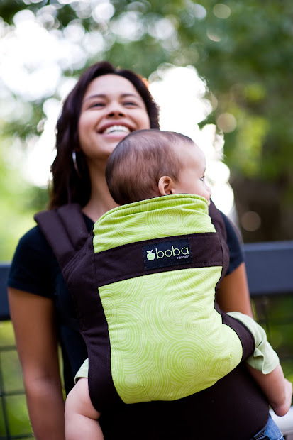 Tree Huggin' Momma Boba Carrier - Baby Day 30