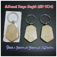 Gantungan Kunci Kayu GK-K04