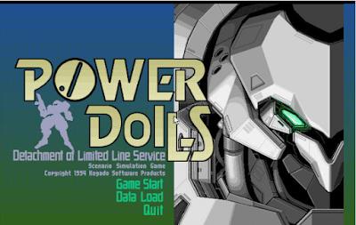 【Dos】特勤機甲隊(POWER DoLLS),以美少女為主角的戰略遊戲!