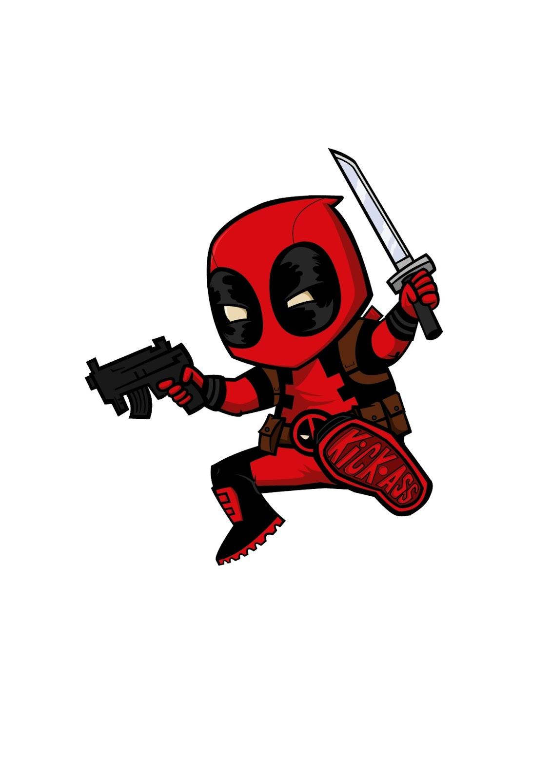 Imagenes De Deadpool Para Dibujar Animado | Kinked