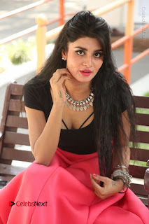 Telugu Actress Harini Stills at Dhyavudaa Movie Teaser Launch  0330.JPG