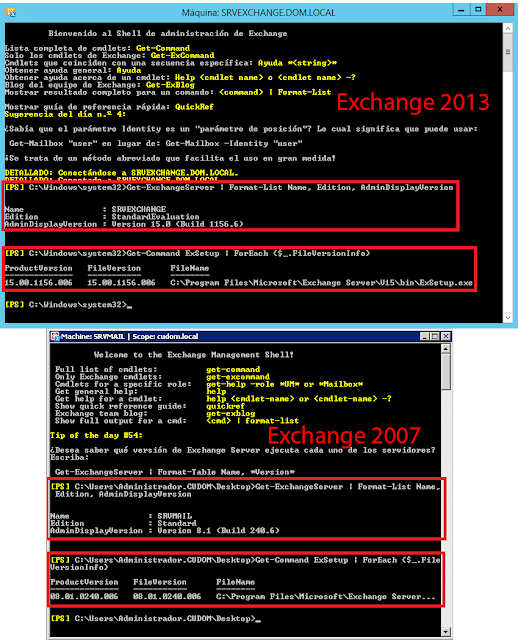 Get-ExchangeServer | Format-List Name, Edition, AdminDisplayVersion