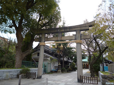 八劔神社鳥居
