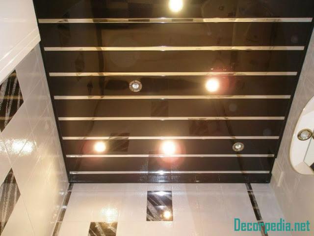 bathroom ceiling designs 2019, rack ceiling for bathroom with lighting ideas