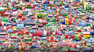 Nama-nama negara menggunakan bahasa arab