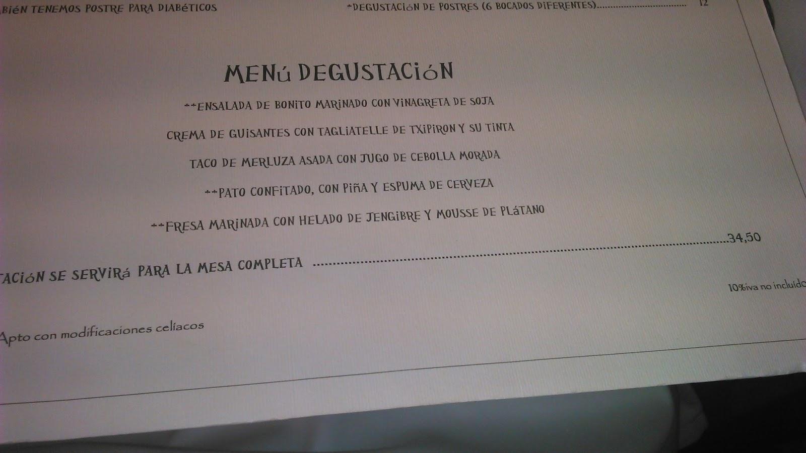 GULA GASTRONMICA KARLOS ARGUIANO ZARAUTZ GUIPZKOA