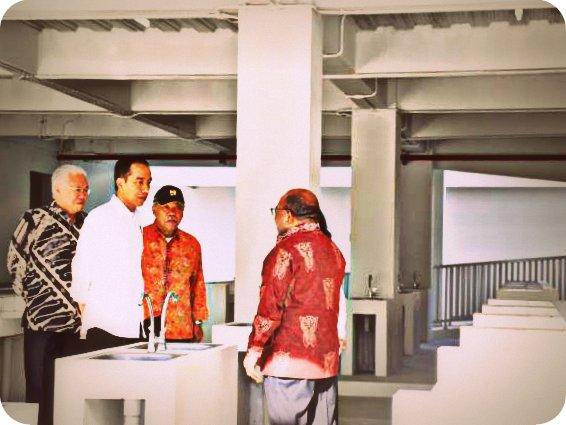 Presiden Joko Widodo Tinjau Pasar Mama-Mama di Jayapura