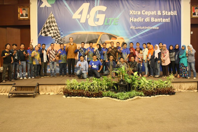 Blogger Serang-Cilegon Hadiri Launching XL 4G LTE