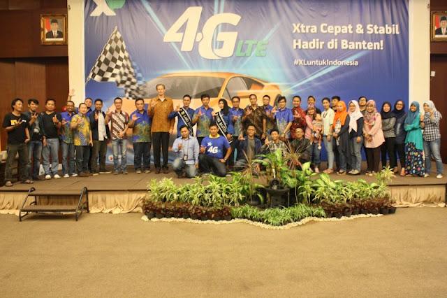 Blogger Serang-Cilegon Hadiri Launching XL 4G LTE