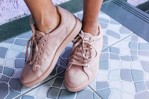 Como usar tênis rosa Amiclubwear