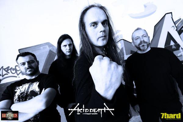 ACID DEATH: Νέο album στα σκαριά