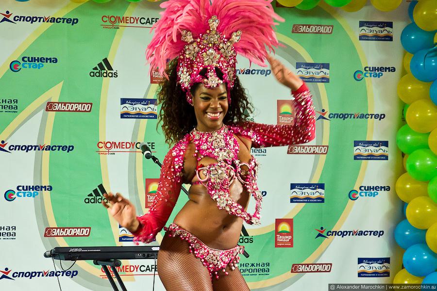 Улыбка карнавала. Terra Brasil Show в Саранске.