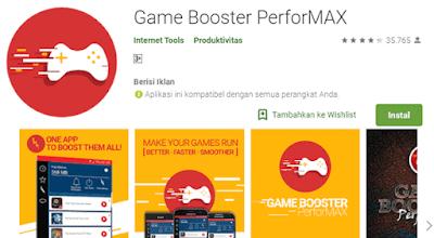 aplikasi yang mampu mempercepat permainan pada tablet dan ponsel