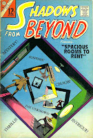 Shadows from Beyond v2 #50 silver age comic book cover by Steve Ditko