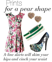 Pear Shape Dressing @ Boo Hoo