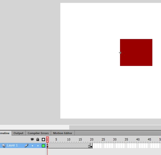 frame awal diberi script stop();