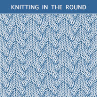 Twist Cable 31 - Knitting in the round